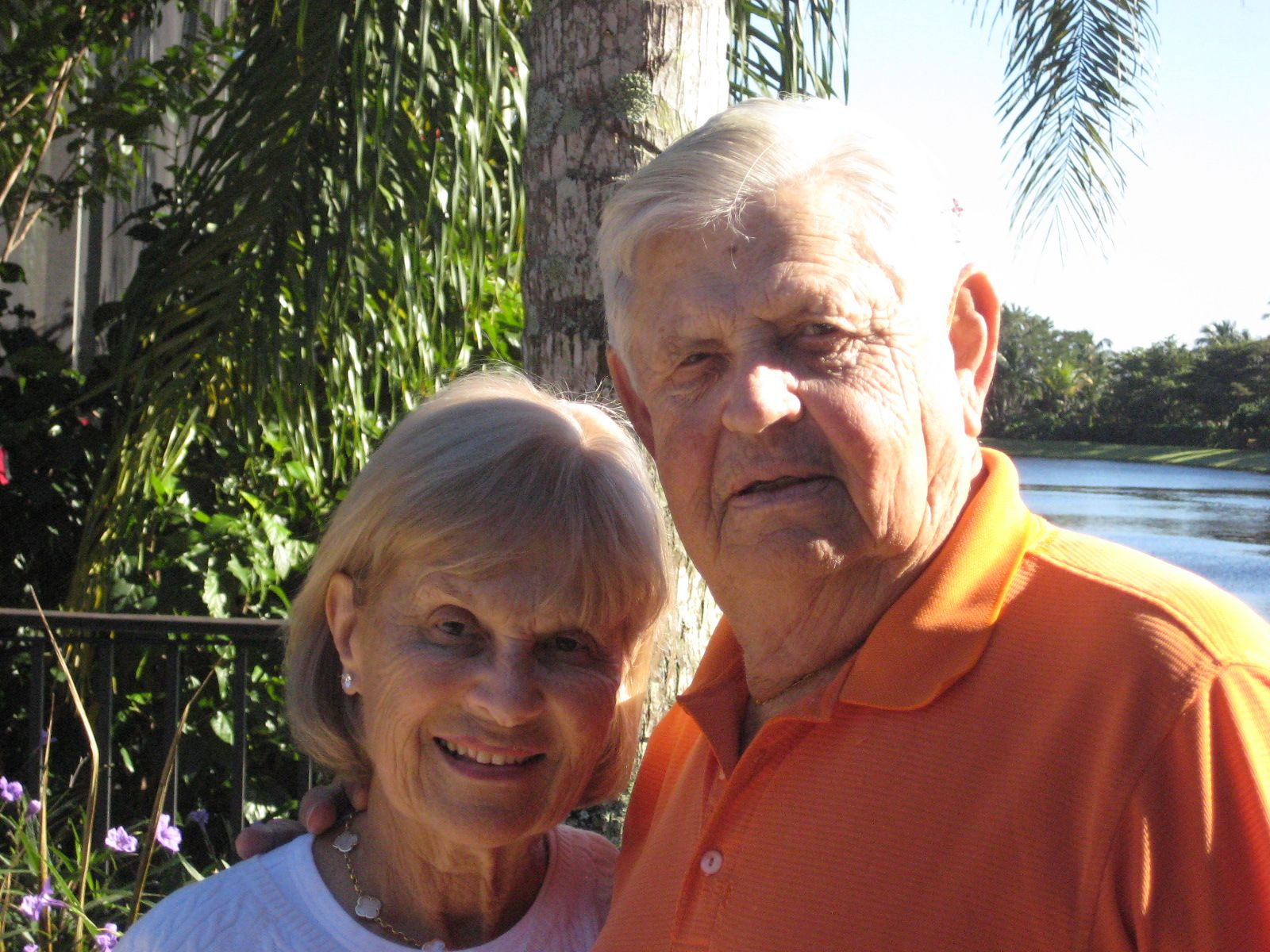 Midge and Al Lipkin '50 met for tea on October 30, 2012 in Palm Beach Gardens, Florida.