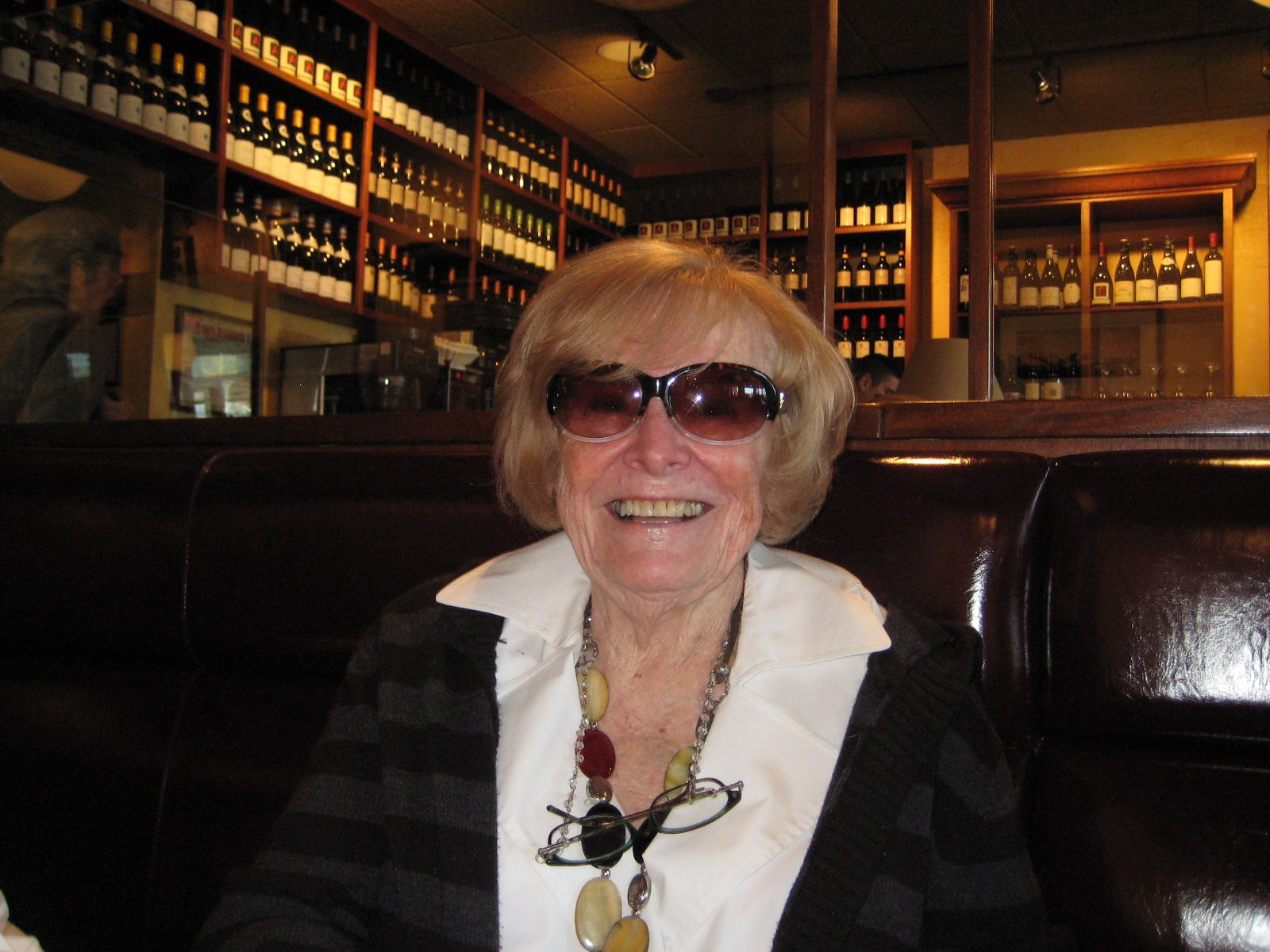 Lunch in Chestnut Hill, MA with Gloria Summers, wife of Gus Summers '40, on November 9th, 2012.