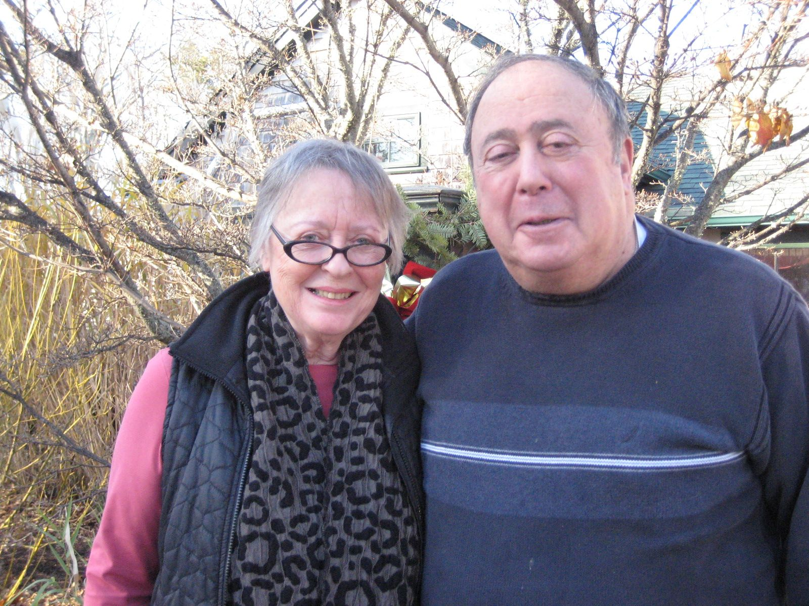 An Orleans lunch with Elaine and Herb Yood '55 on December 6th.