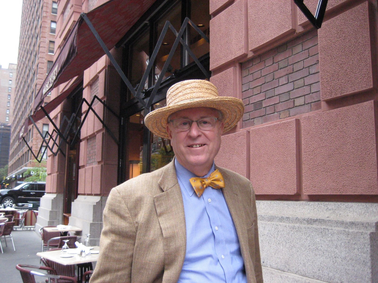 Tony Smith '53 in New York City on October 25, 2012.