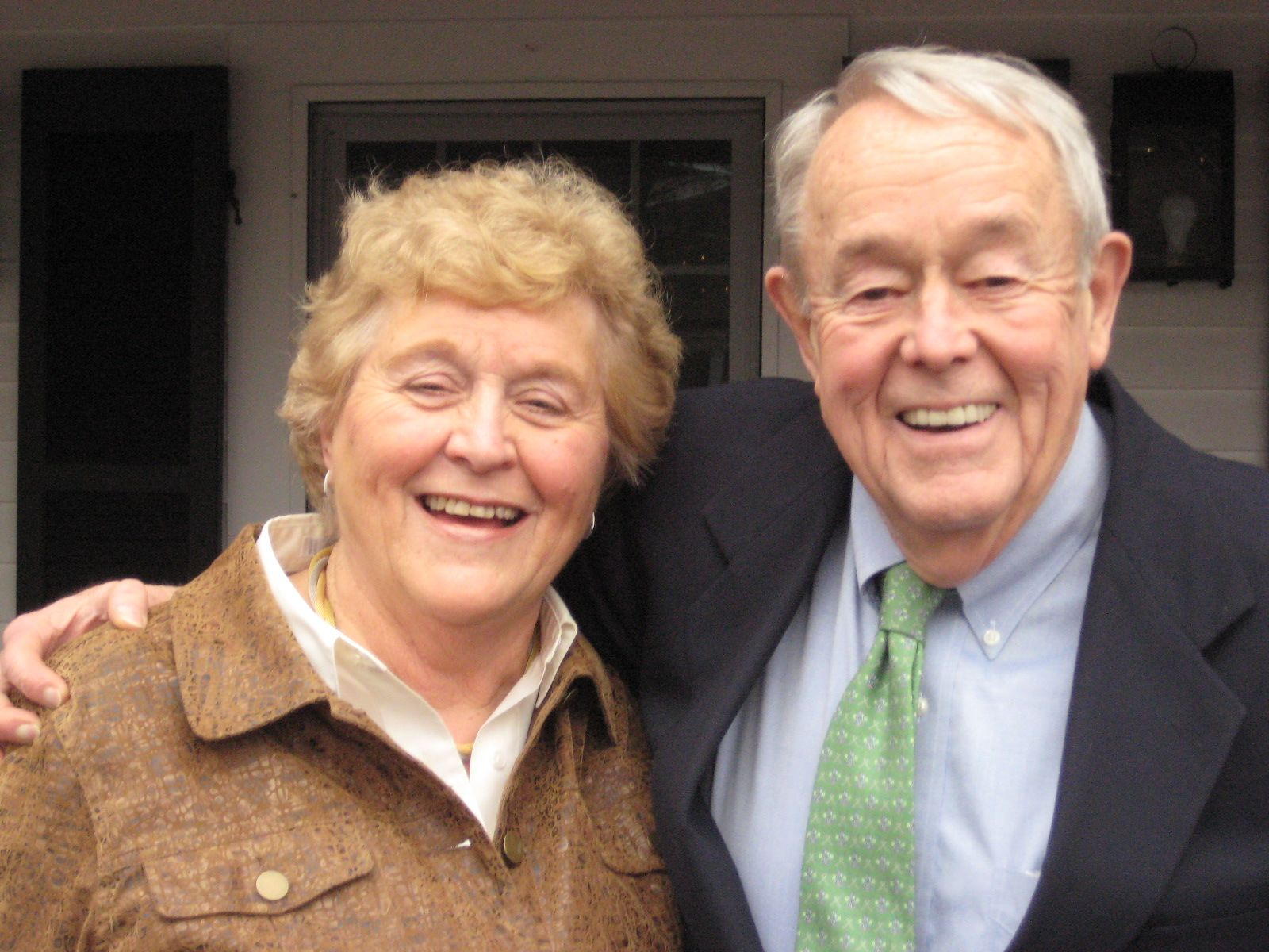 Barbara and Pete Birnie '53 in Brewster, MA on January 31, 2013.