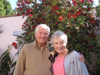 Suzanne and Ted Winship '49 on February 25th in Studio City, CA.