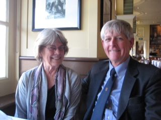Ellen and Jonathan Lovell '63  on February 28th in San Jose, CA.