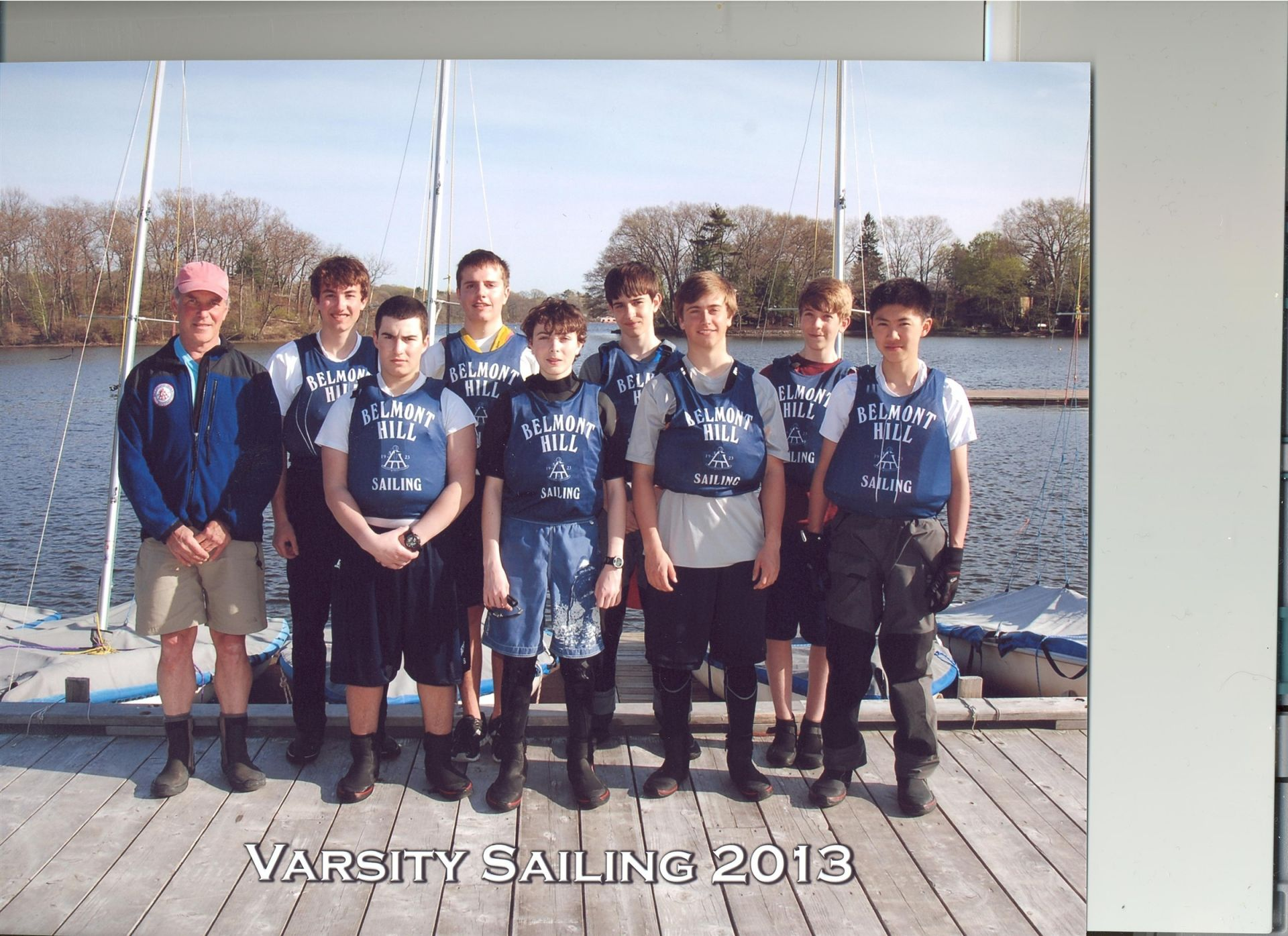 L-R Coach Zamore, Chris Ciampa, Co-Capt. Max Rudzinsky, Alex Themelis, Tomas Paris, Lucas Jurgensen, James Collins, Jacob Whitney, Spencer Kim, Missing: Bernardo Pacinin- Co-Capt