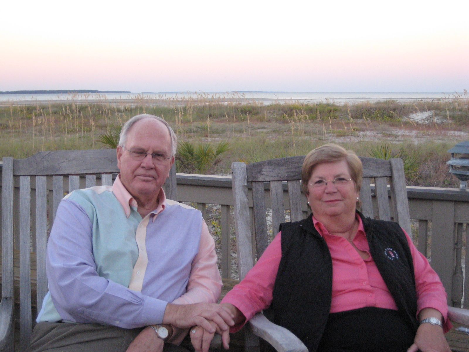 Marriett and Gil Campbell '63 in Hilton Head, SC -  October 23, 2013