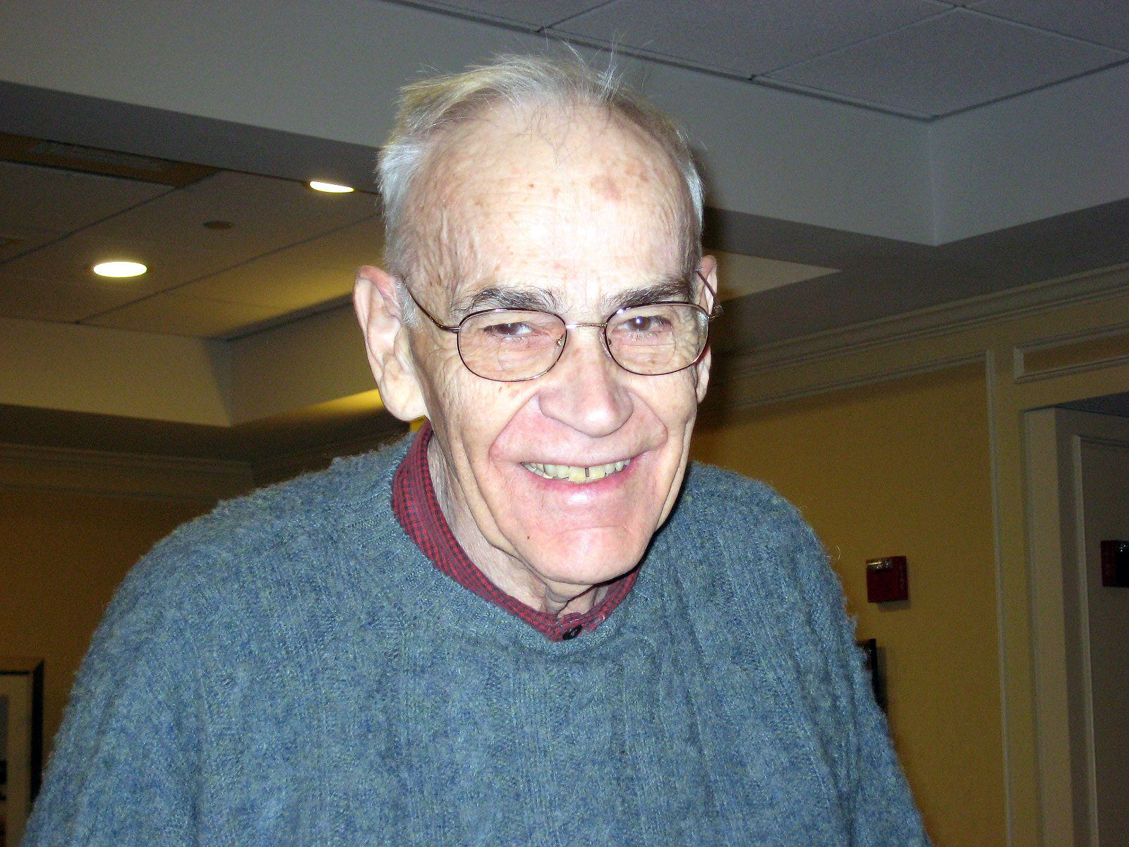 David Chick '49 in Concord, January 2014