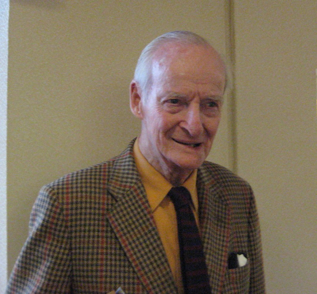 Ned Thomas '37 in Bedford, MA, January 2014