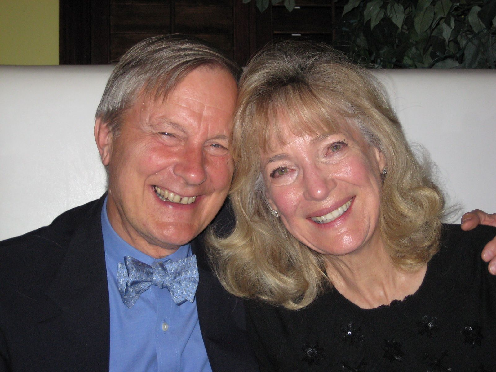 Christie and John Brooks '60 in Vero Beach, FL in January 2014