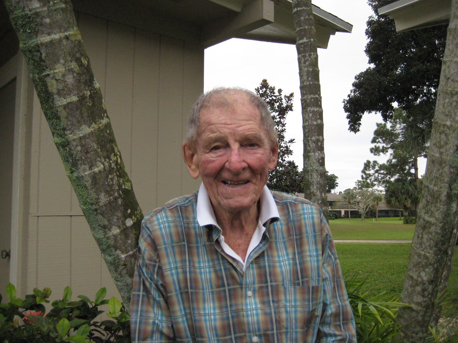 Joe Basso  '47 in Jupiter, FL in January 2014