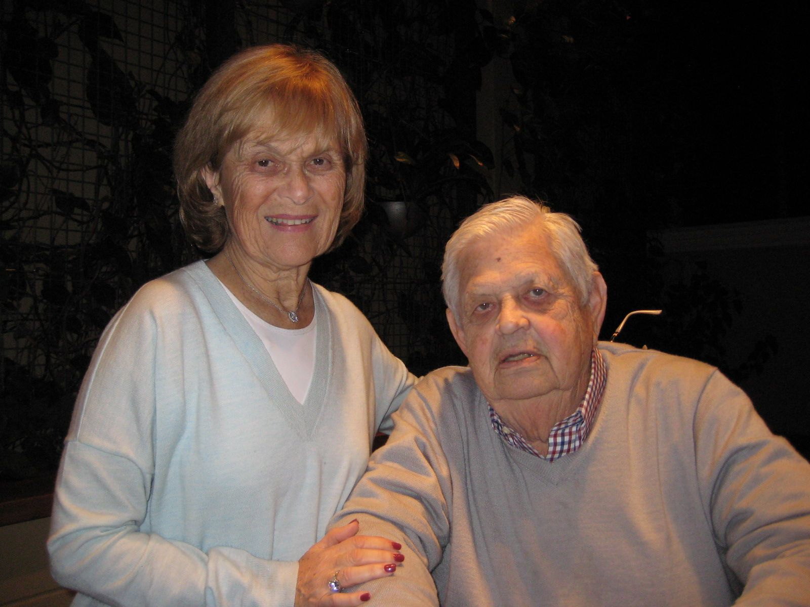 Midge and Al Lipkin '51 in Palm Beach Gardens, FL in January 2014