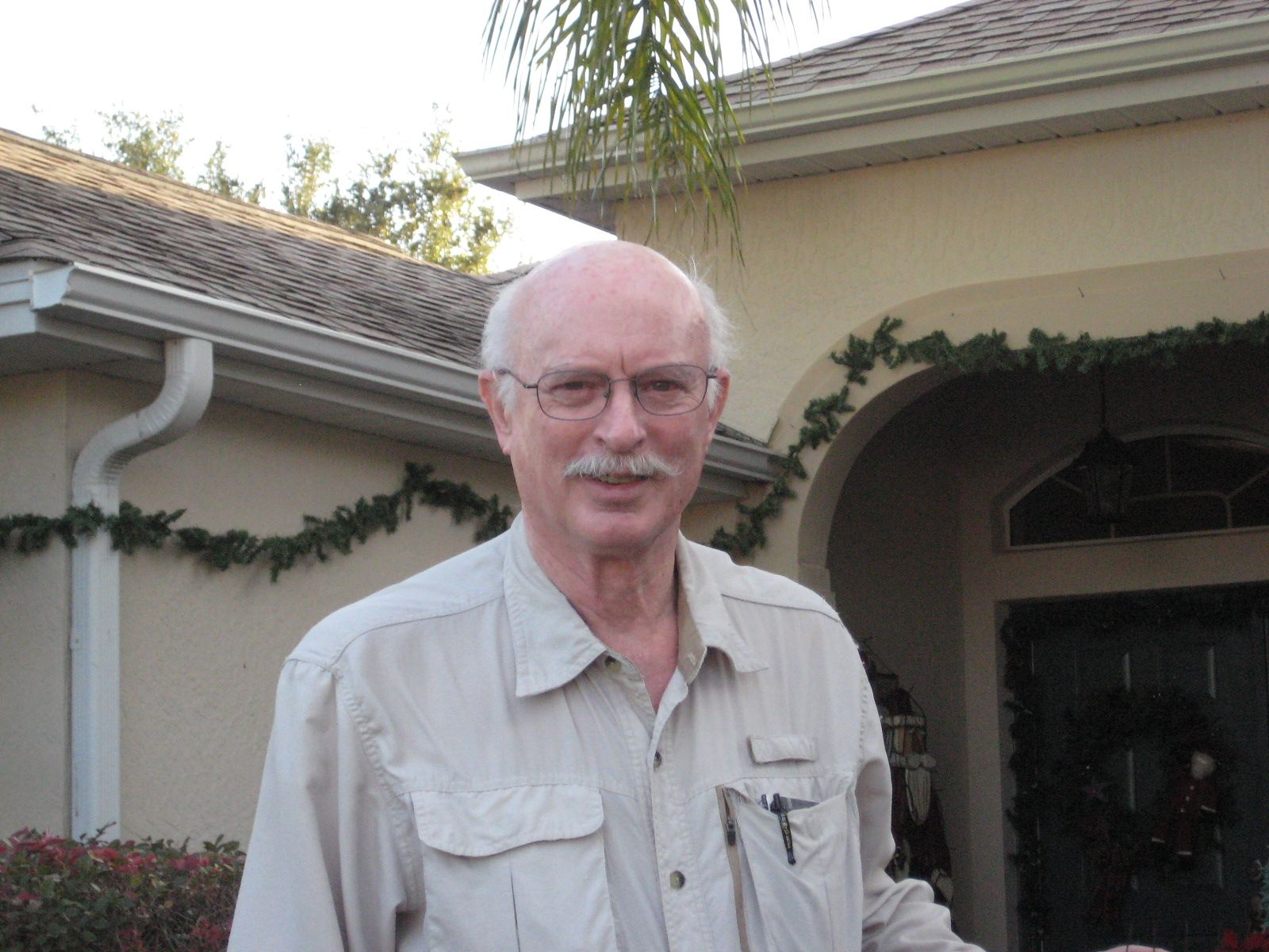 Hank Childs '54 at The Villages, FL in January 2014