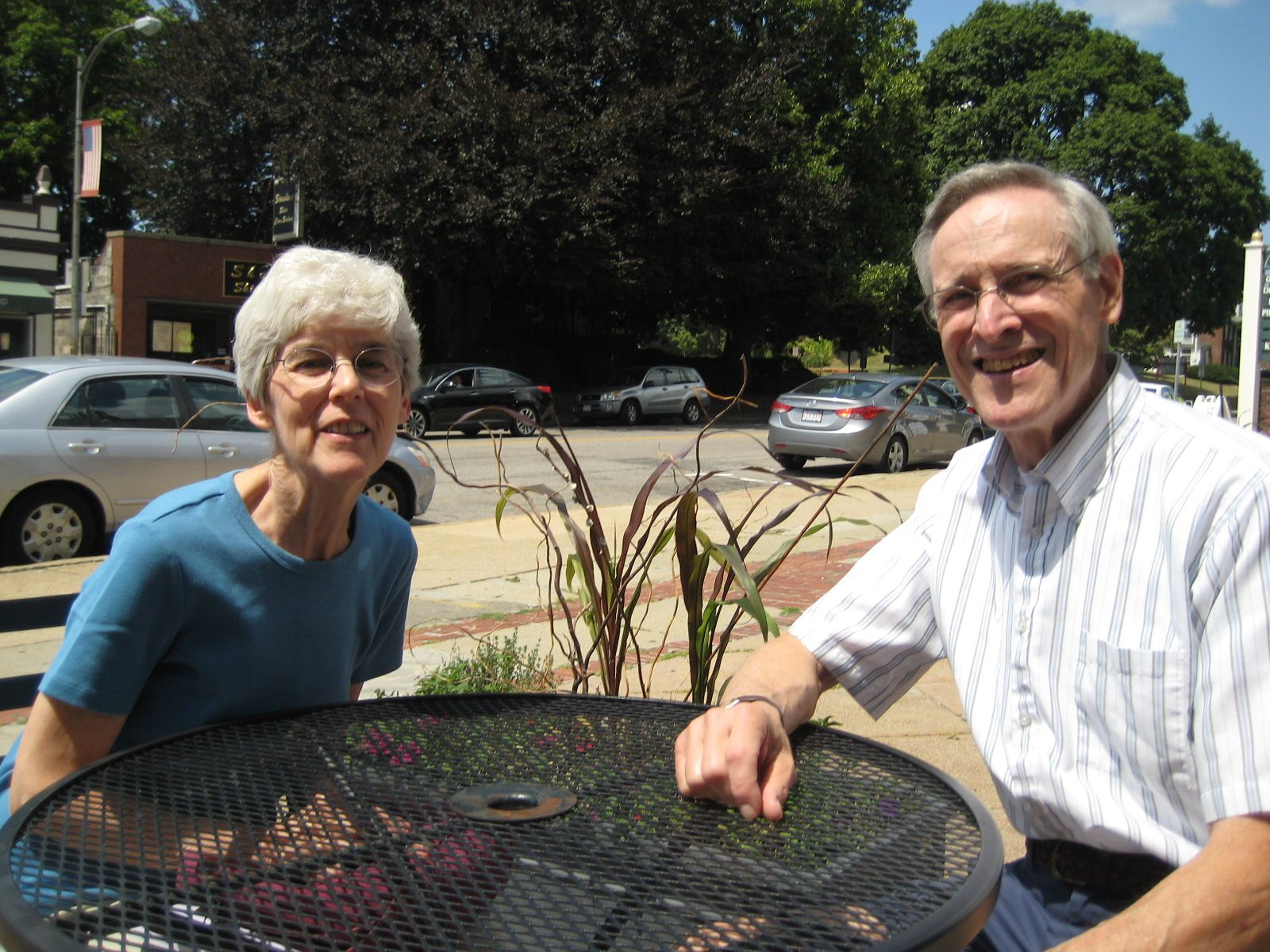 Lunch with Sally and Gerry Patrick '60  on August 11th in Belmont, MA