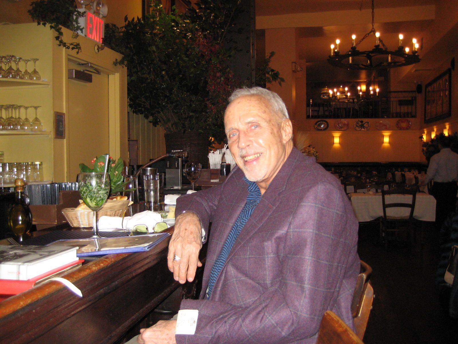 Eliot Hubbard '62 in New York, October 20, 2014