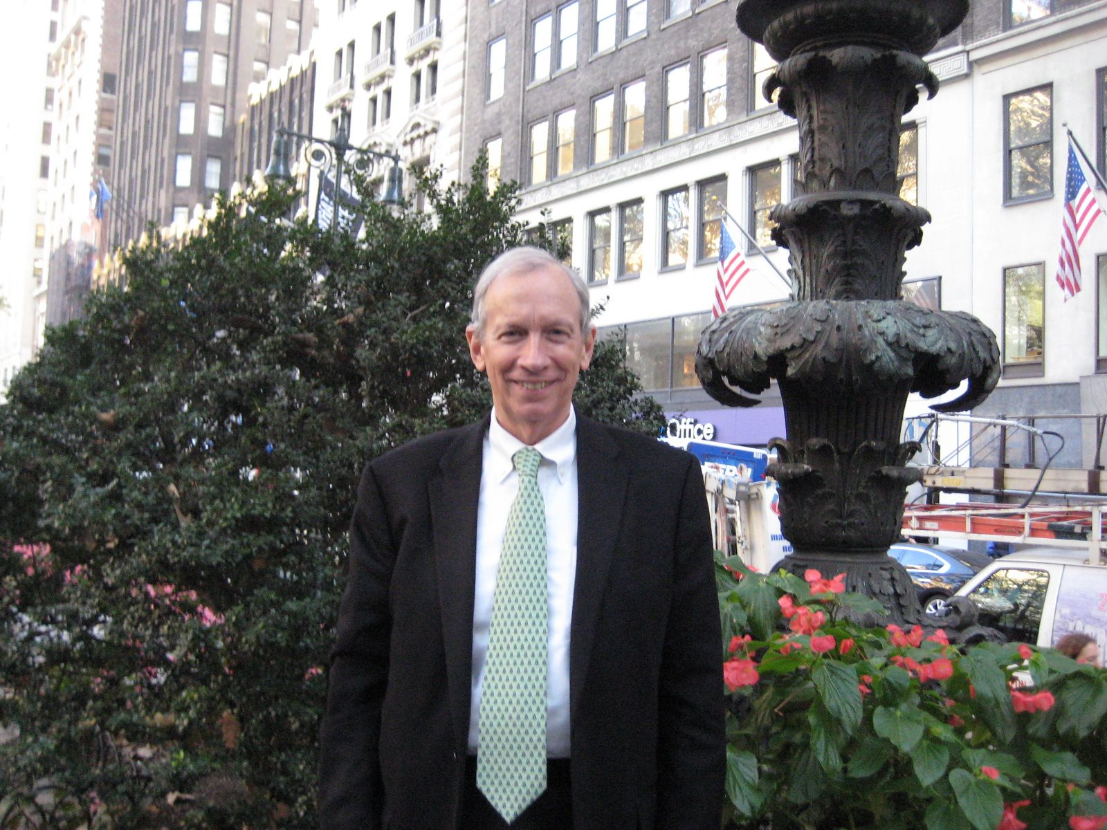 Hank Amon '61 in New York, October 20, 2014