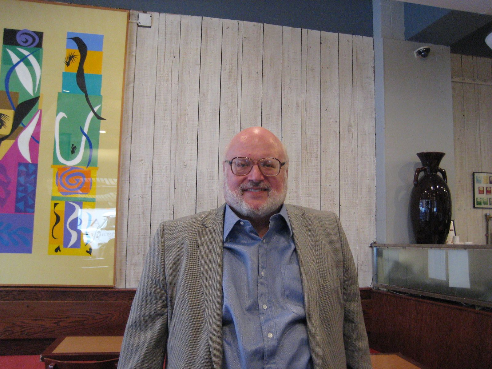 Jim Cole '62 in New York, October 20, 2014
