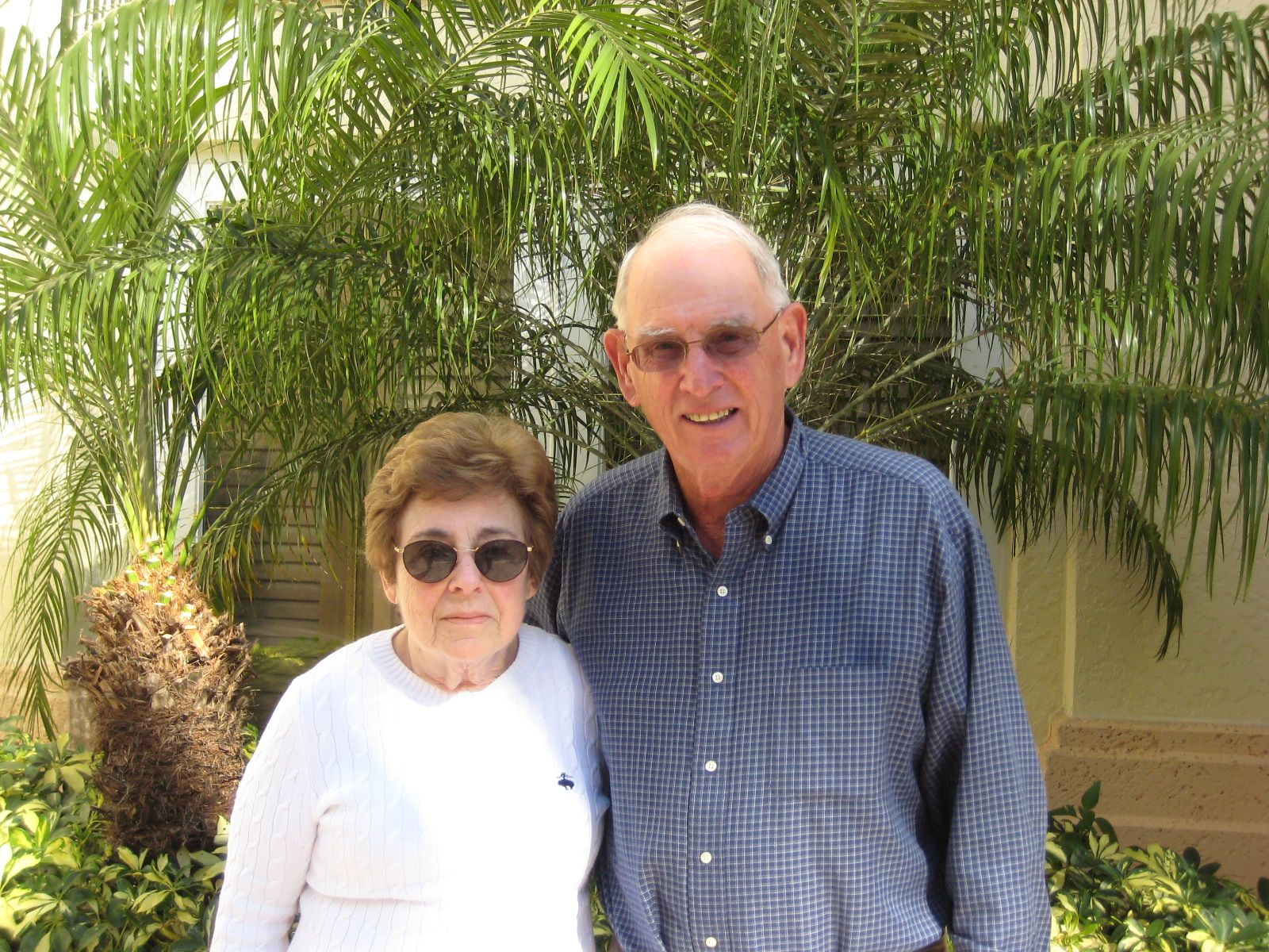Donna and Doug Barnard '56  in Naples, FL on November 13, 2014.