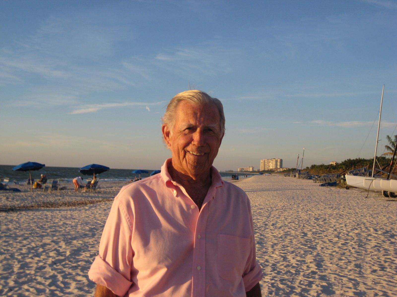 Mac Perkins '63 in Naples, FL on November 12, 2014.