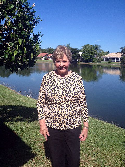Carol Sellman, wife of the late Charlie Sellman '53, in Naples, FL on November 13, 2014.
