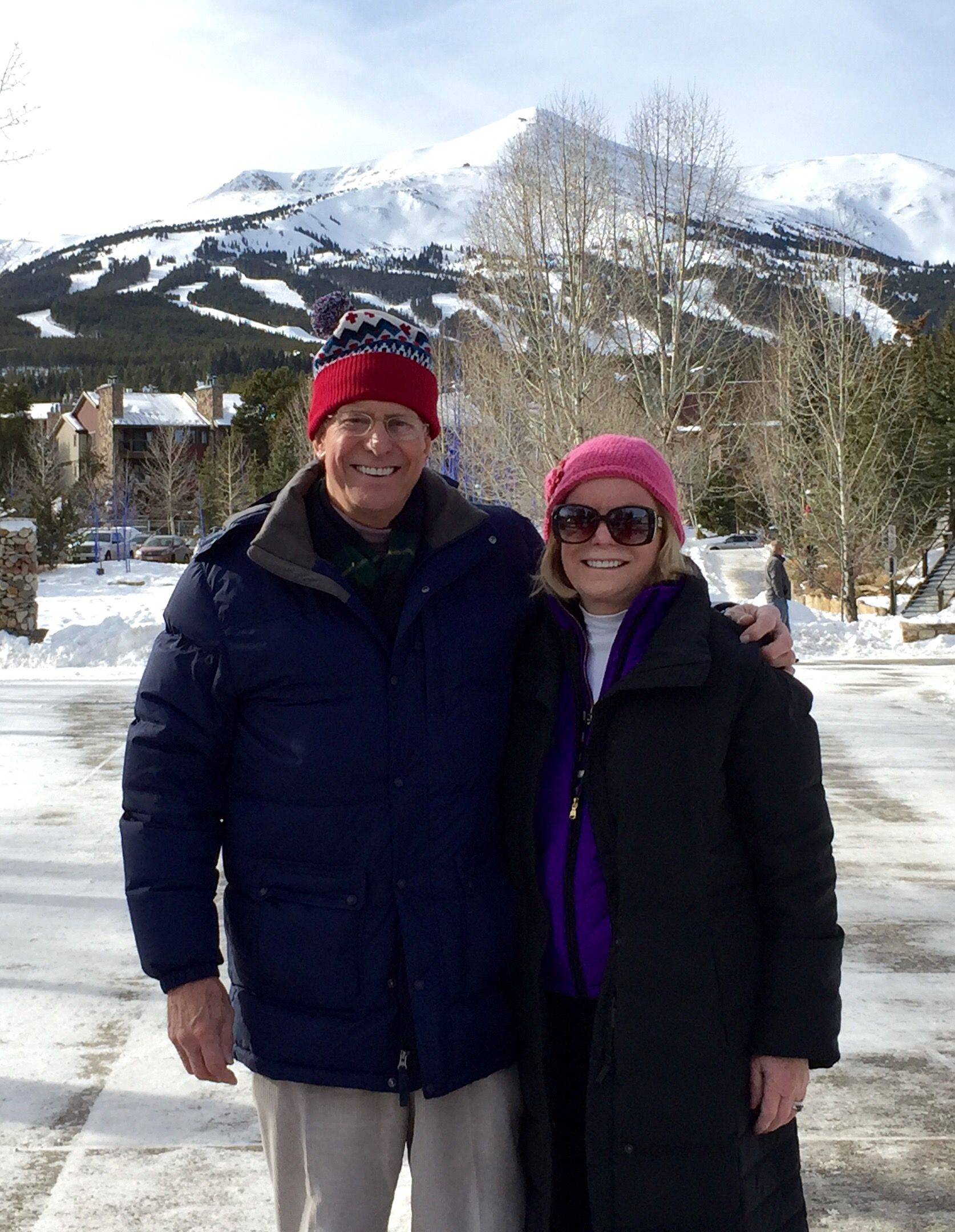Lansing Palmer '62 and his wife Pat in Colorado / December 2015