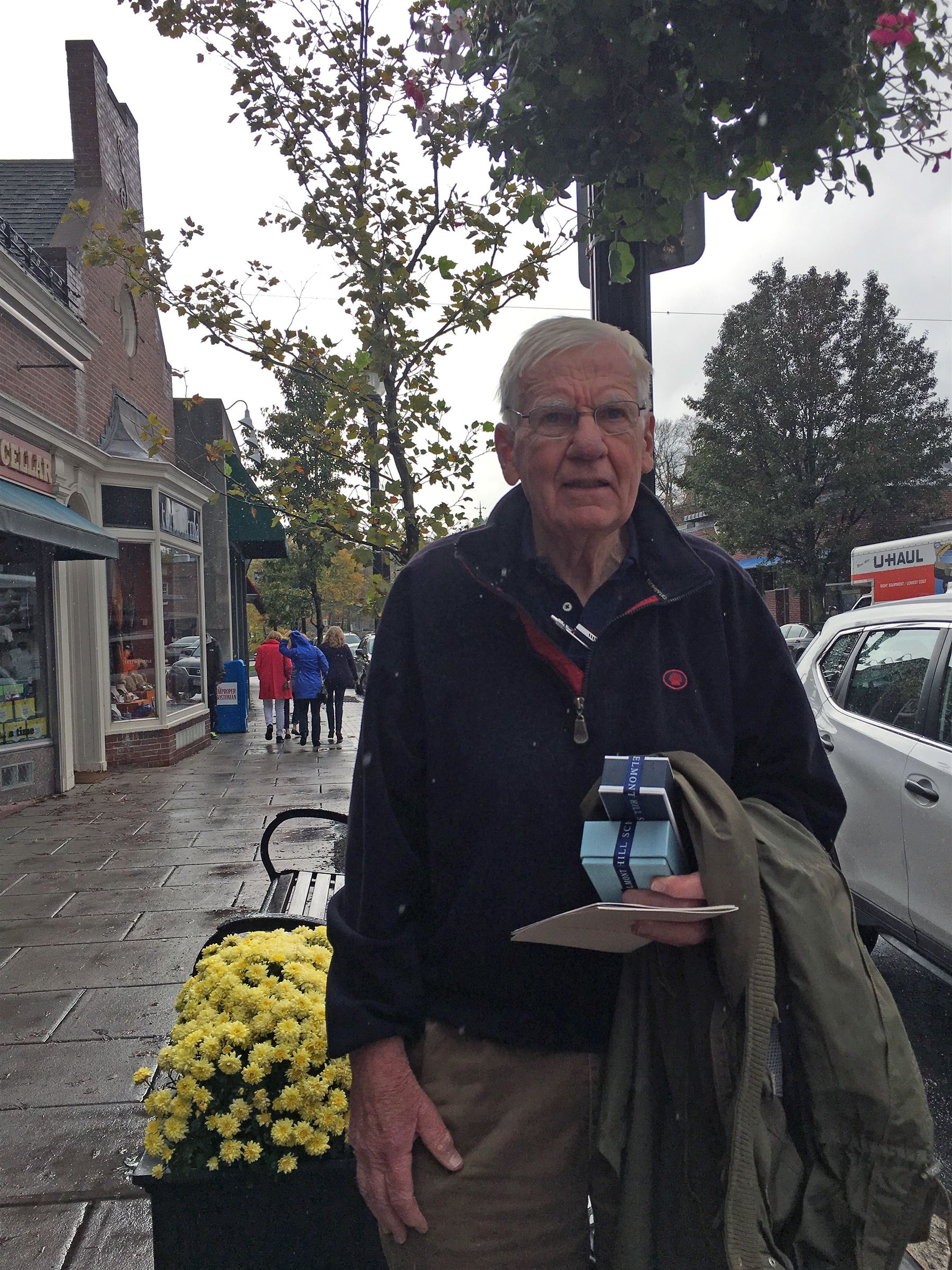 Tom Worthen '53 in Belmont on October 26, 2017