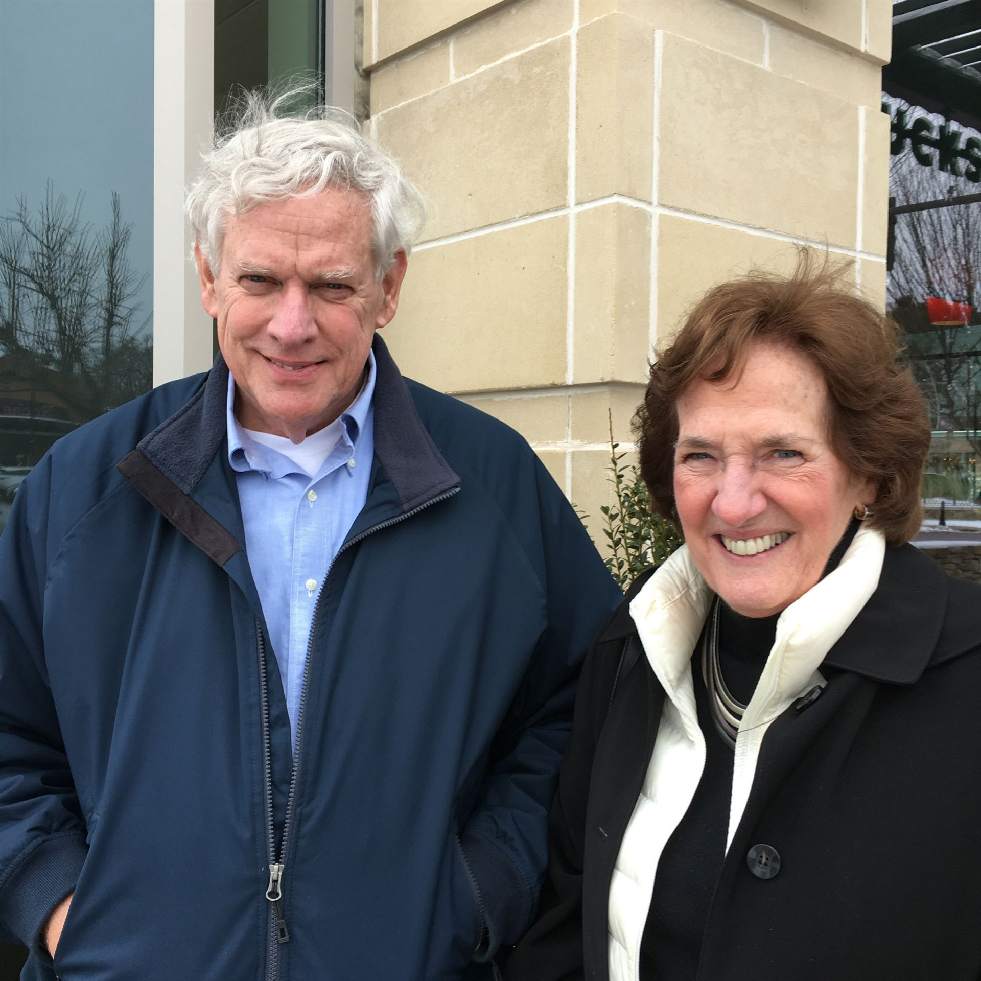 Jannie and Paul O'Conor '64 on January 29, 2018 in Wellesley, MA