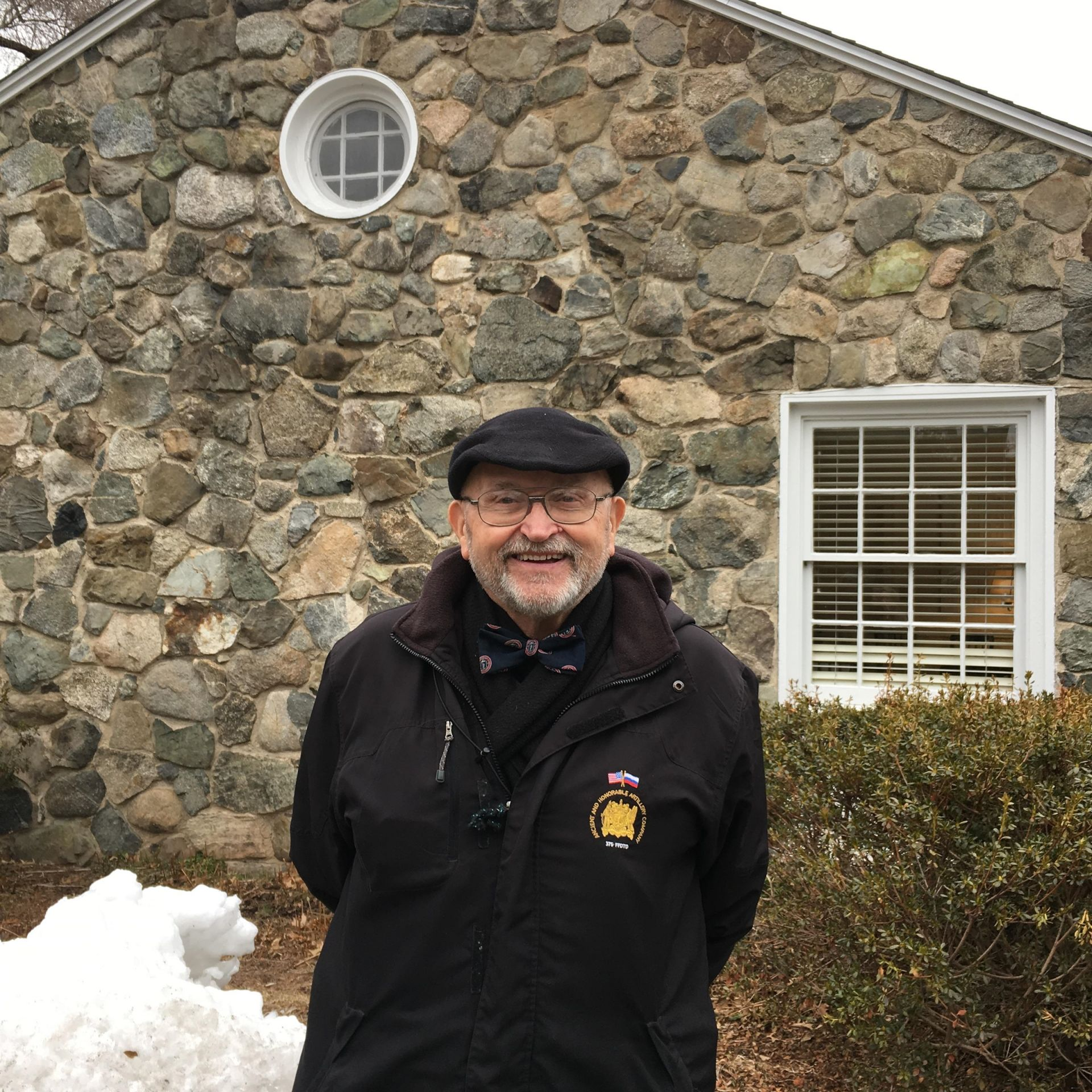 Larry Willwerth '62 visit to Alumni House in January 2019.