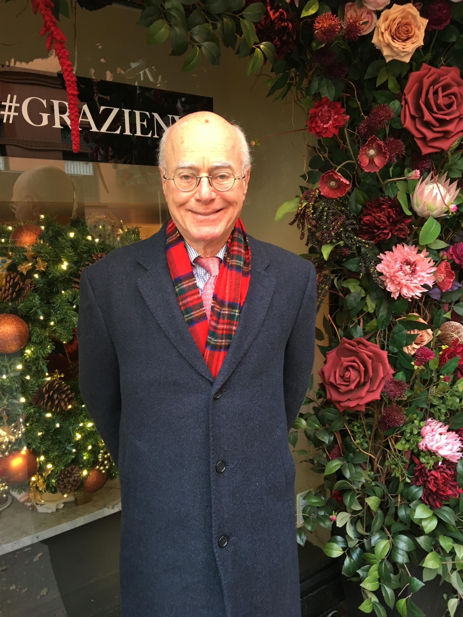 Ken Meister '69 in New York City, November 2019