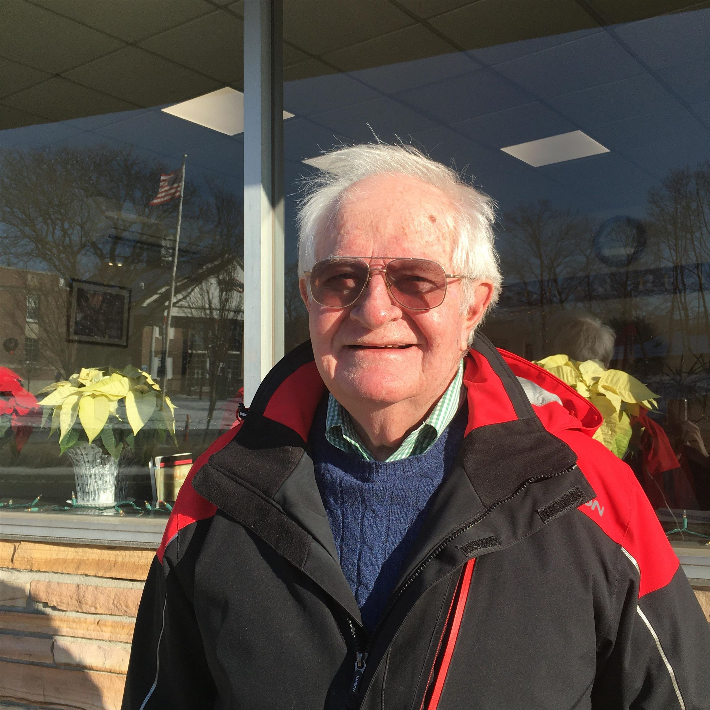 Wade Welch '61 in Belmont, December 2019