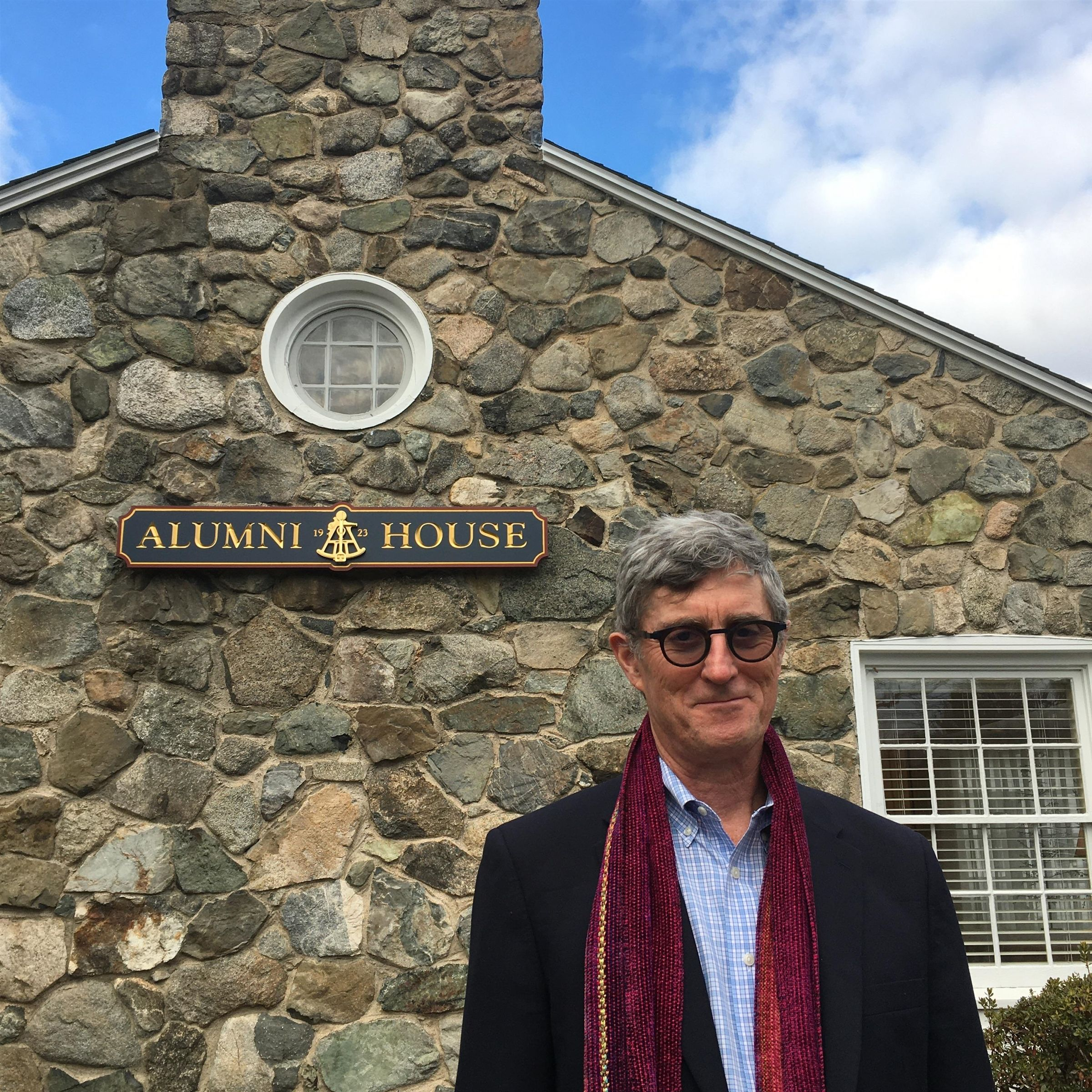 Len Edgerly '68 at Alumni House, January 2020
