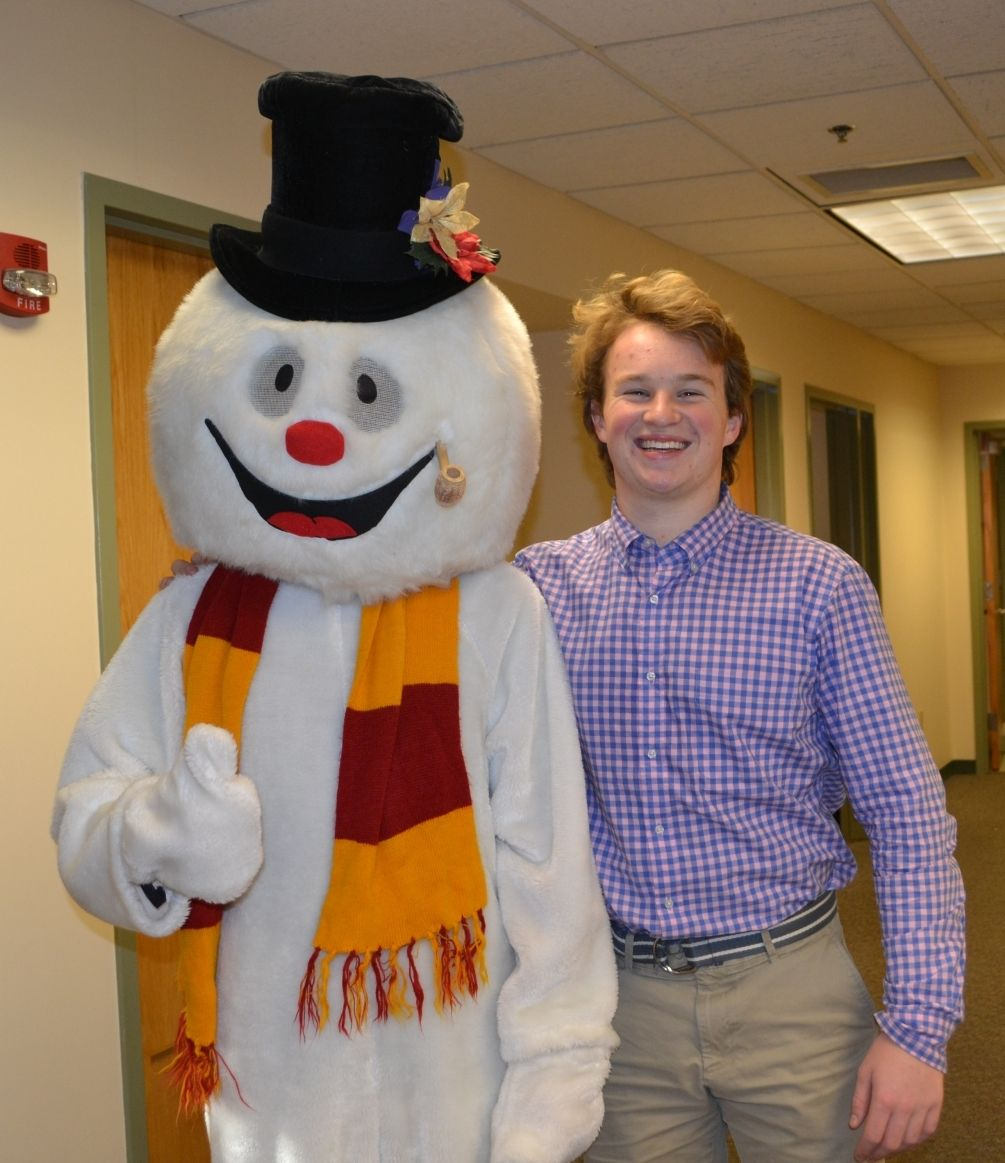 Cam Hall '17 (A.K.A. Frosty) and his