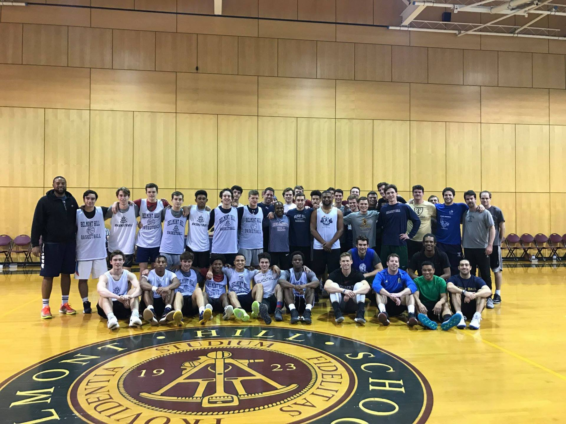 Annual Alumni Basketball Game on November 23, 2018.