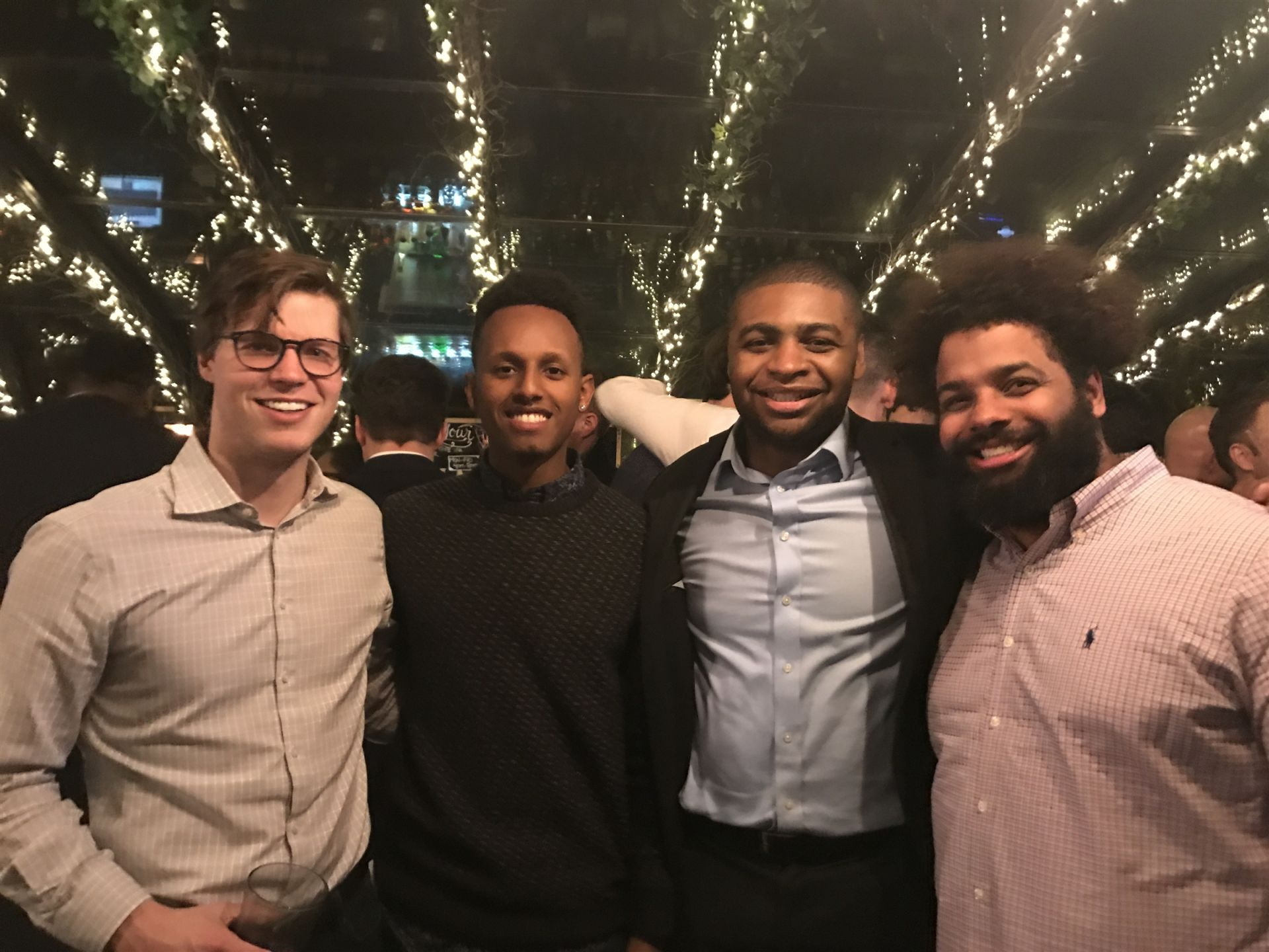 Recent Alumni Gathering at Draught 55 in New York City, January 16, 2019