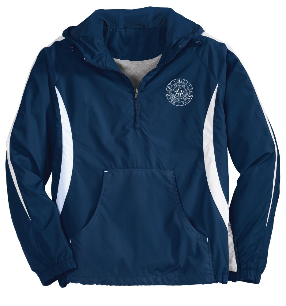 Blue Jacket - Custom Wind Shirt: $38.00