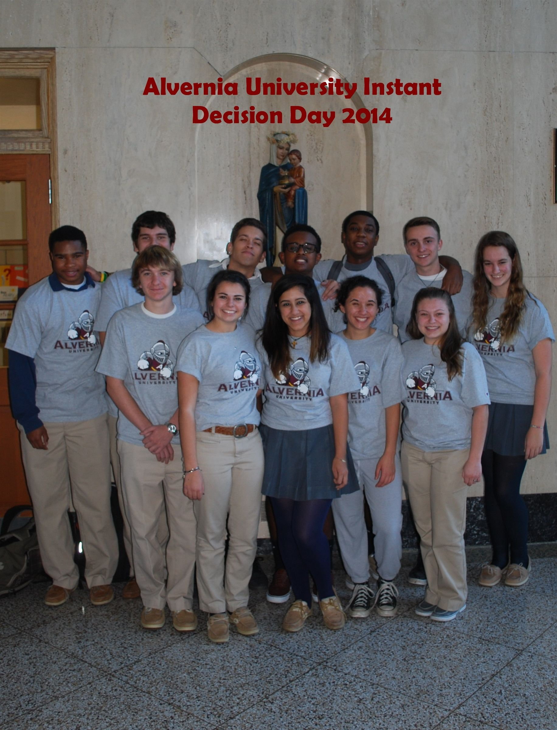 Alvernia University Instant Decision Day