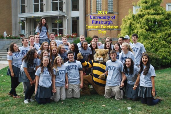 University of Pittsburg Instant Decision Day