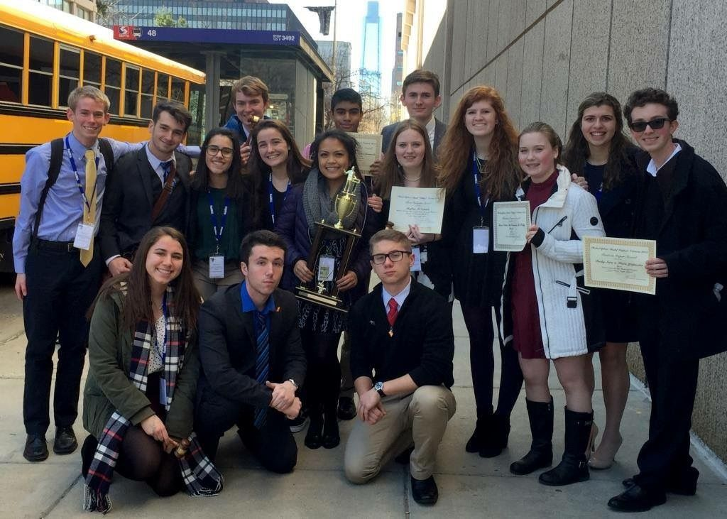 ND Model UN takes home award for Outstanding Large School Delegation