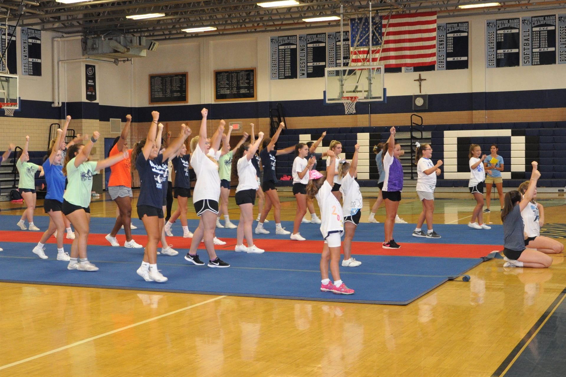 Notre Dame Summer Cheer Camp