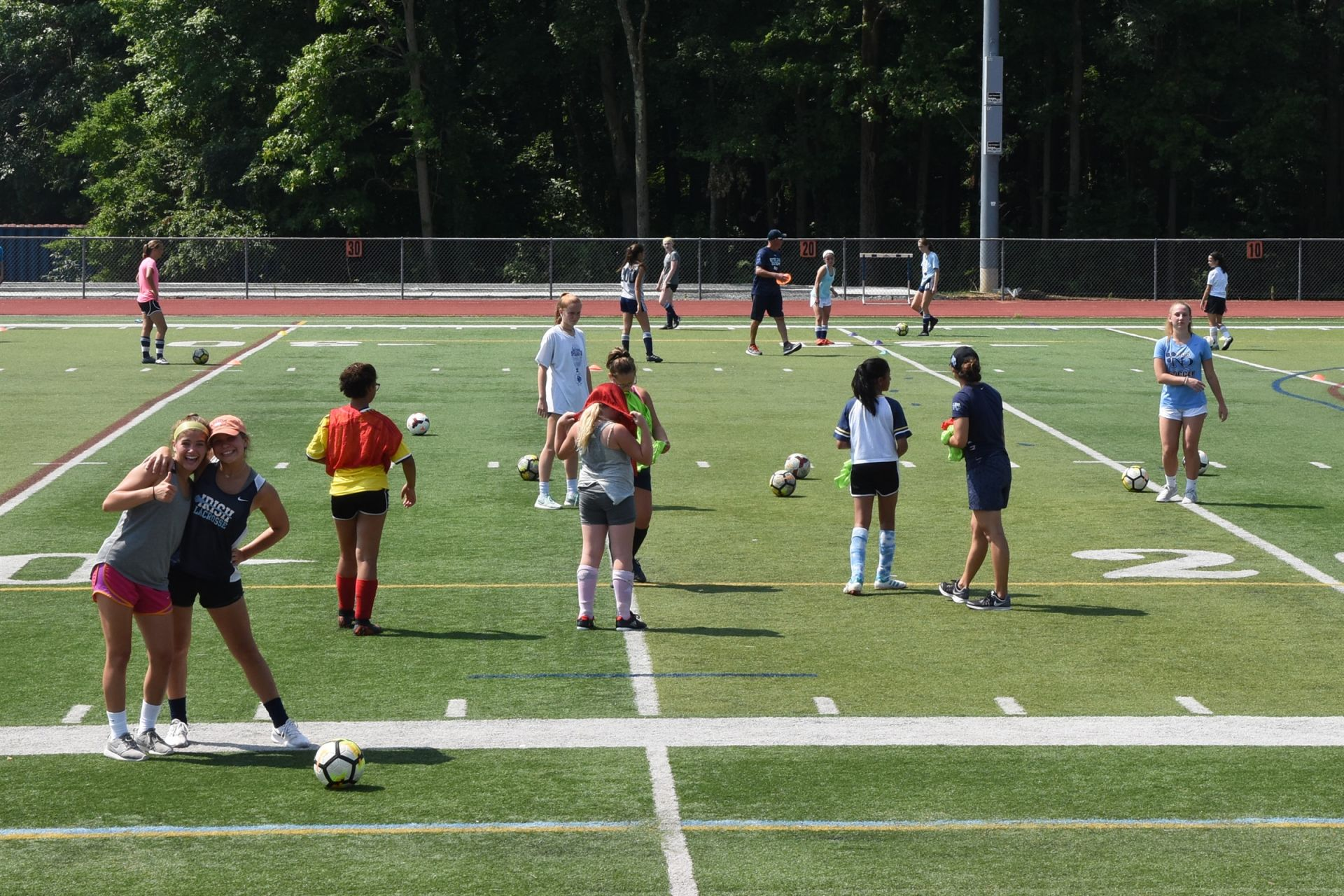Notre Dame Summer Girls Soccer Camp