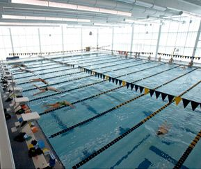 The Aquatic Center, located within the Athletic Center, is home to the Peddie School and Peddie Aquatic Association swim teams.