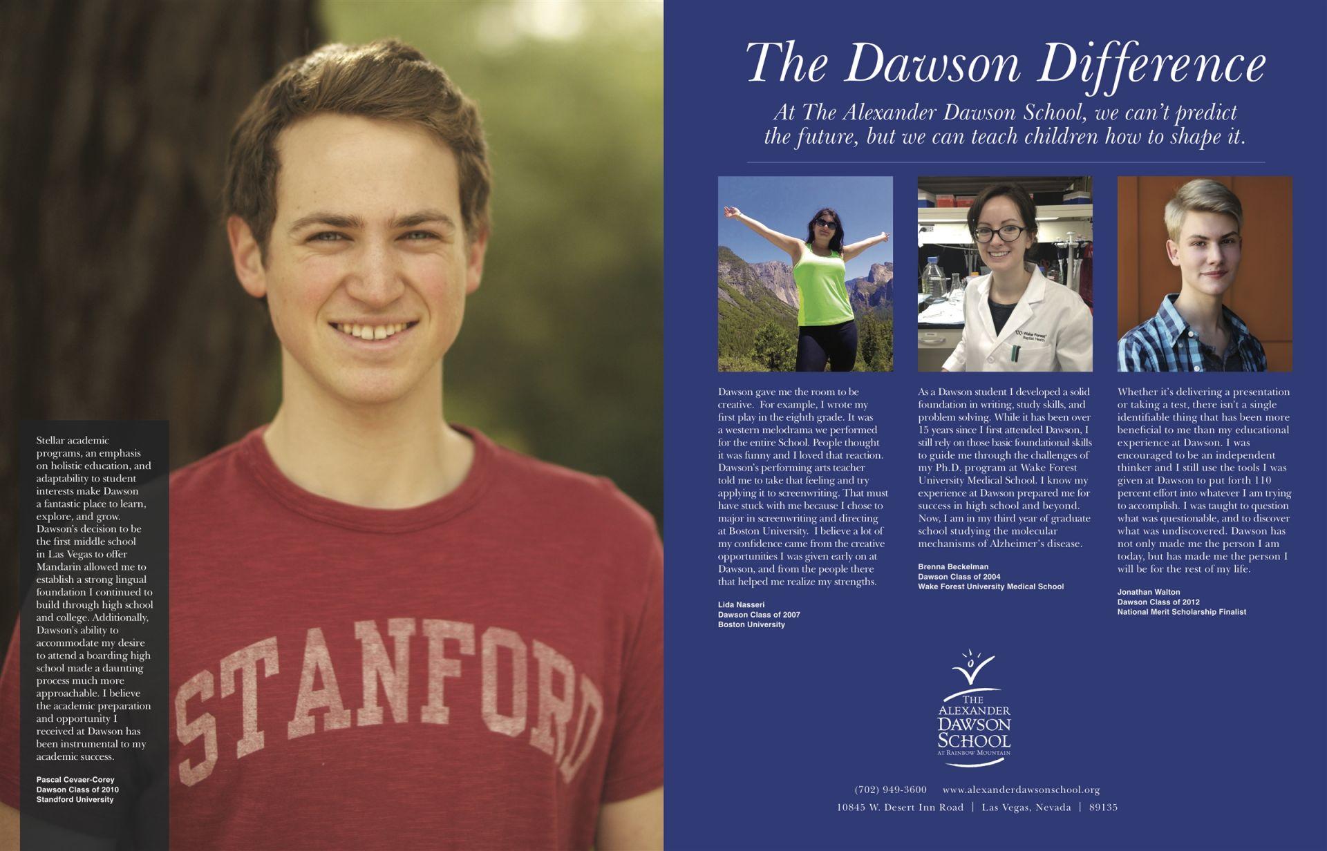 Alexander Dawson School | High School Placement Guidance