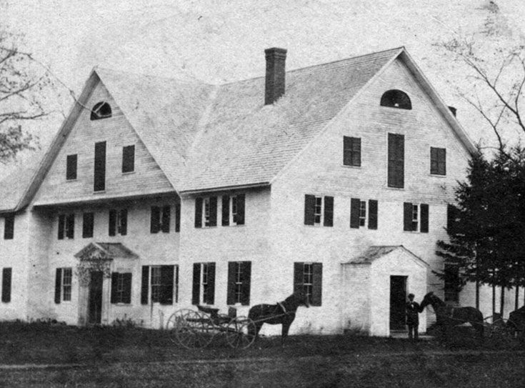 Judge Samuel Livermore, one of the original landholders in the town of Holderness, built Livermore Mansion around 1780. More than 100 years later, the mansion became the first home of Holderness School. Sadly, the building burned in the spring of 1882, only three years after the school opened.