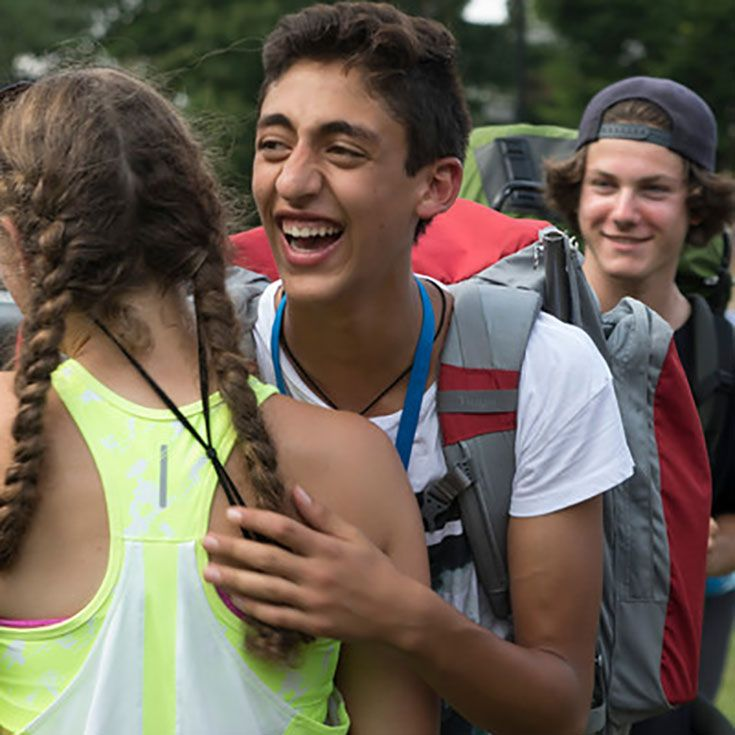 New students get ready for O-Hike