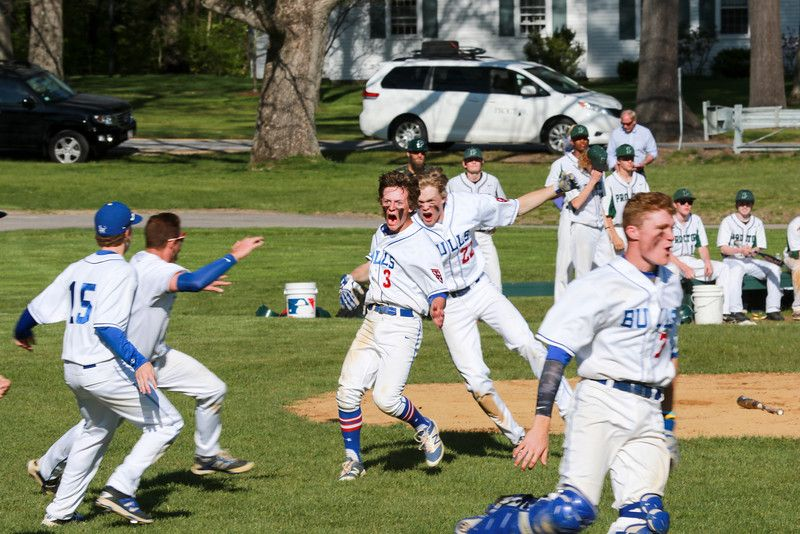 A Winning Run for the Varsity Baseball Team