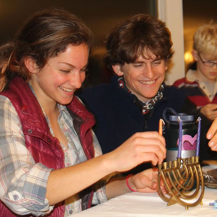 Celebrating Hannukah