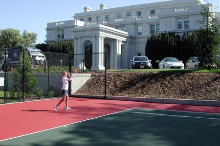 US Tennis courts