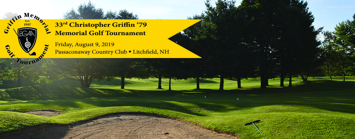 Christopher Griffin '79 Memorial Golf Tournament