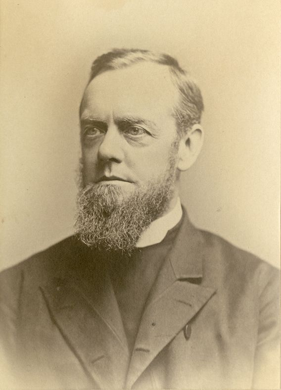 Probably not quite as stern as he appears here, the Reverend Henry Augustus Coit served as the School's first Rector, from 1856 until his death in 1895.