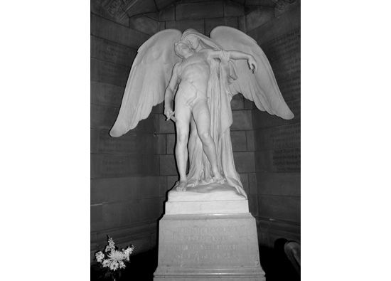 Death and the Young Soldier, Daniel Chester French, 1928