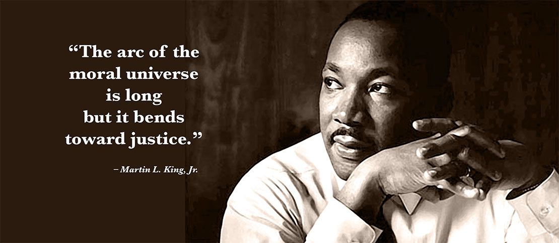 Martin Luther King, Jr. with quote