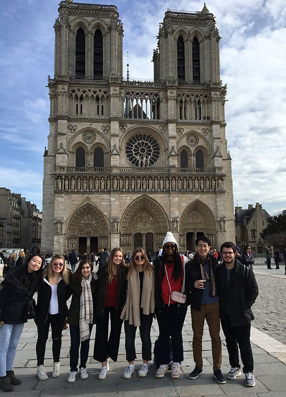 Off-Campus Program Trip to Paris